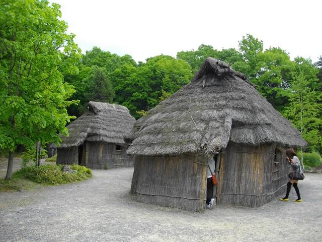 アイヌ民族の家(チセ)